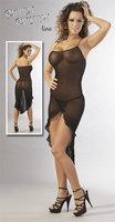 Mesh Kleid schwarz S/M