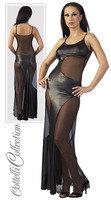 Kleid lang schwarz M
