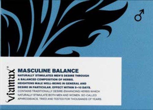 Pastile pentru stimulare VIAMAX Masculine Balance.