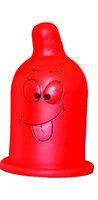 Lampa prezervativ rosie
