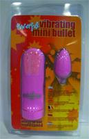 Powerful Vibrating Mini Bullet pink