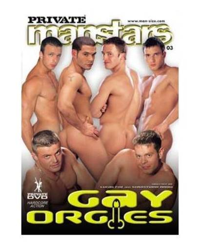 DVD PRIVATE MAN STARS Gay Orgies