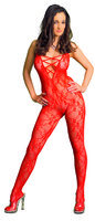 COLLECTION X Orlanda Catsuit ouvert rot M