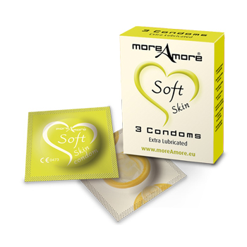 MOREAMORE   CONDOM SOFT SKIN 3 PCS
