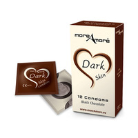 MoreAmore   Condom Dark Skin 12 pcs