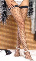Black Fence Net Stockings