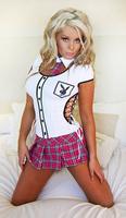 Teachers Pet Playboy Style Clubwear Podium Outfit