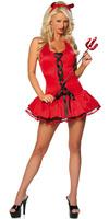 Sassy Little Devil Halloween Fancy Dress Costume