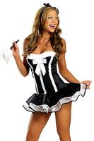 Sassy MiMi French Maid Fancy Dress Costume