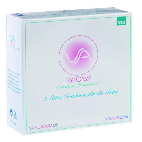 VA w o w  Condom Feminine 3 St