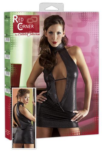 Kleid silber Red Corner S