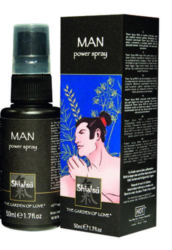 SHIATSU Man Power Spray